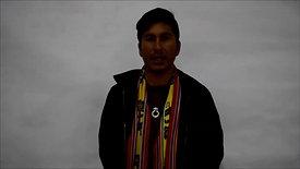 """Marlon Yury Alviz Cusi, lider agrario participante en """"13+13: Arte, Comunidad y Empoderamiento"""""""