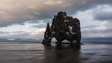 Hvitserkur Iceland 4K Timelapse