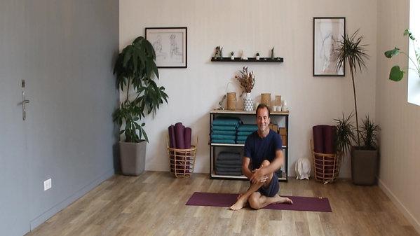 Quelques mots de David - Hatha Yoga