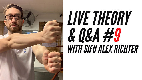 LIVE Theory and Q&A #9 | Sifu Alex Richter