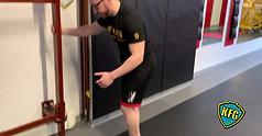 Exercise 6: Inverted Single Leg Squat - Front Kick