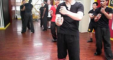 Biu Tze Form - Five Thunder Punches