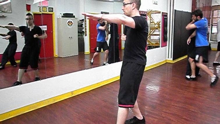 Biu Tze Form - Three Elbows Section