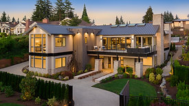 Modern Farmhouse in Clyde Hill, WA by Adam Leland Homes