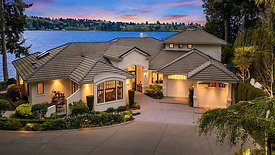 Bellevue Waterfront Estate with 150 Feet of low-bank shoreline  |  Offered at $10,450,000