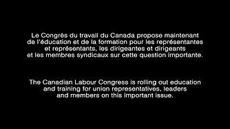 DomesticViolence@work/Canadian Labour Congress promo