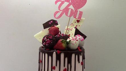 Amycakes Bakery Valentines Day Whimsy Cake Ad