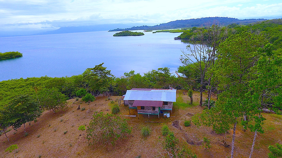 New Native House on Popa Island