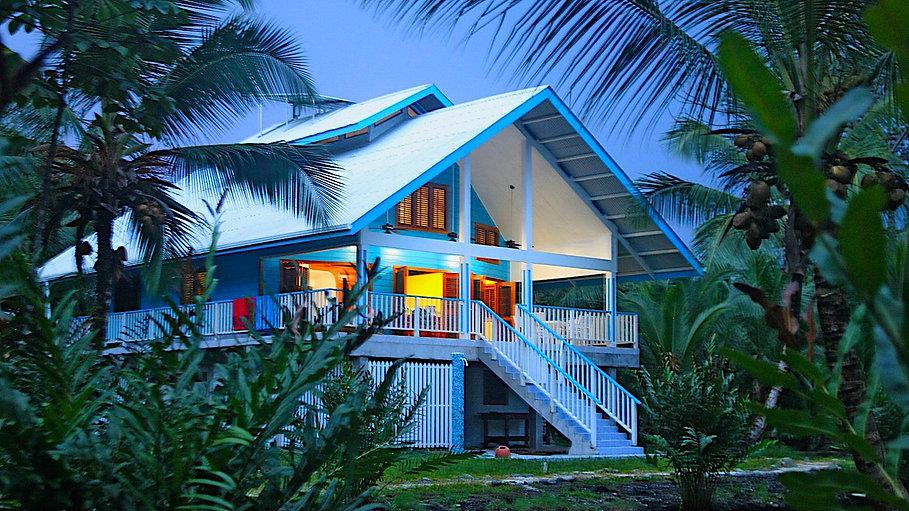 Beach House in the Caribbean