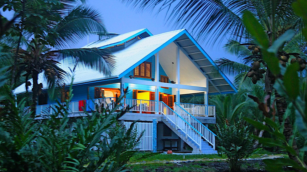 Beach House in the Caribbean