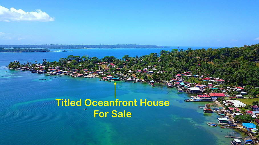Titled Waterfront House in the Caribbean