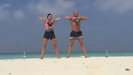 Kettlbell HITT Beach Workout