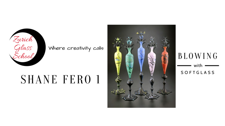 Shane Fero 1: Introduction to blowing with soft glass