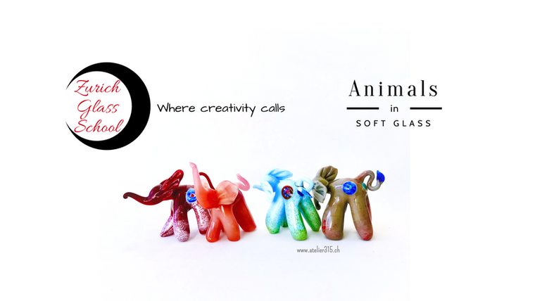 Julie 1: Introduction to sculpting in soft glass - Animals