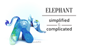 Demo 5  Animals 1  Elephant Revisit Simplifying And Complicating