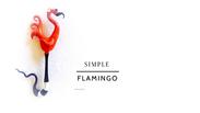 Demo 9 Animals 1 Simple Flamingo