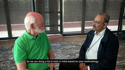 Pavan Bakshi with Marshall Goldsmith