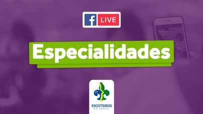 🎥 Live | Especialidades Comédia e Maquiagem