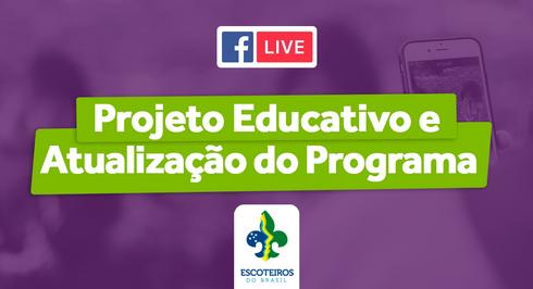 🎥 Live | Projeto Educativo e Atualização do Programa