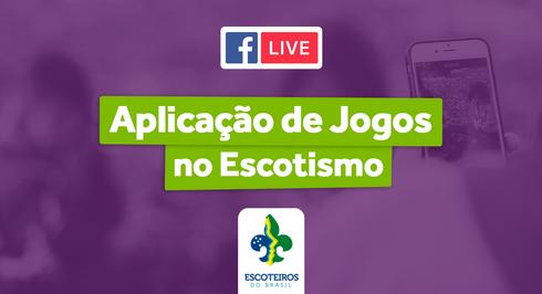 🎥 Live | Aplicação de Jogos