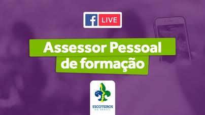 🎥 Live | Assessor Pessoal de Formação