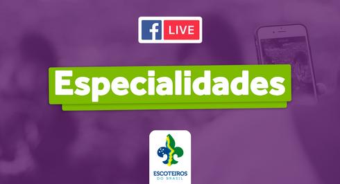 🎥 Live | Novas Especialidades