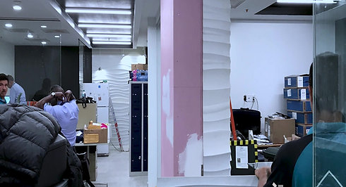 American Airlines office renovation