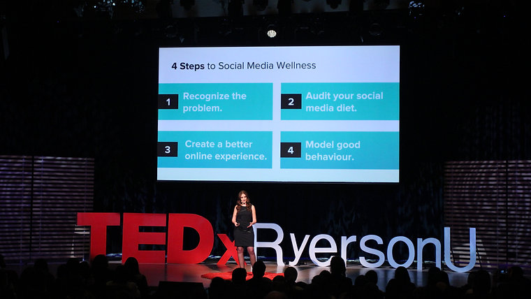 Is Social Media Hurting Your Mental Health? | Bailey Parnell | TEDxRyersonU