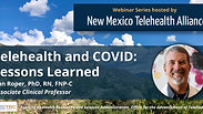Telehealth and COVID - Lessons Learned by Van Roper, PhD