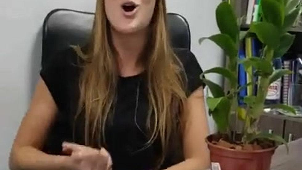 Video depoimento Fernada  sobre a Basile Estudo Orientado Aulas Partculares