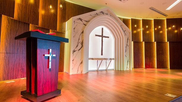 Church Interior Design by Konan Design