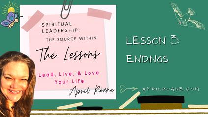 Lesson 3: Endings