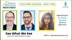 Part 2 Podcast Interview - Dr Bandali - Nutrition and vision - Copy