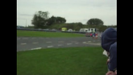 Rob Still having a moment in to the chicane
