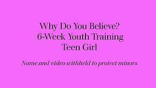 Teen Girl - 6 Week Class