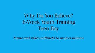 Teen Boy - 6 Week Class