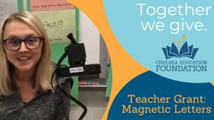 Kindergarten Magnetic Letters Grant
