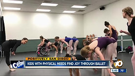 Kids with physical needs find joy through ballet
