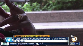 City leaders considering push to ban vaping