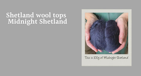Shetland Wool tops