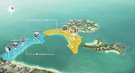 Al Marjan Island Web Map