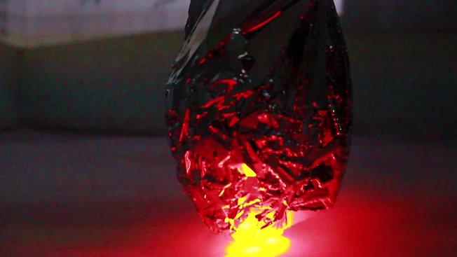 Pulsating Laser Experimentation