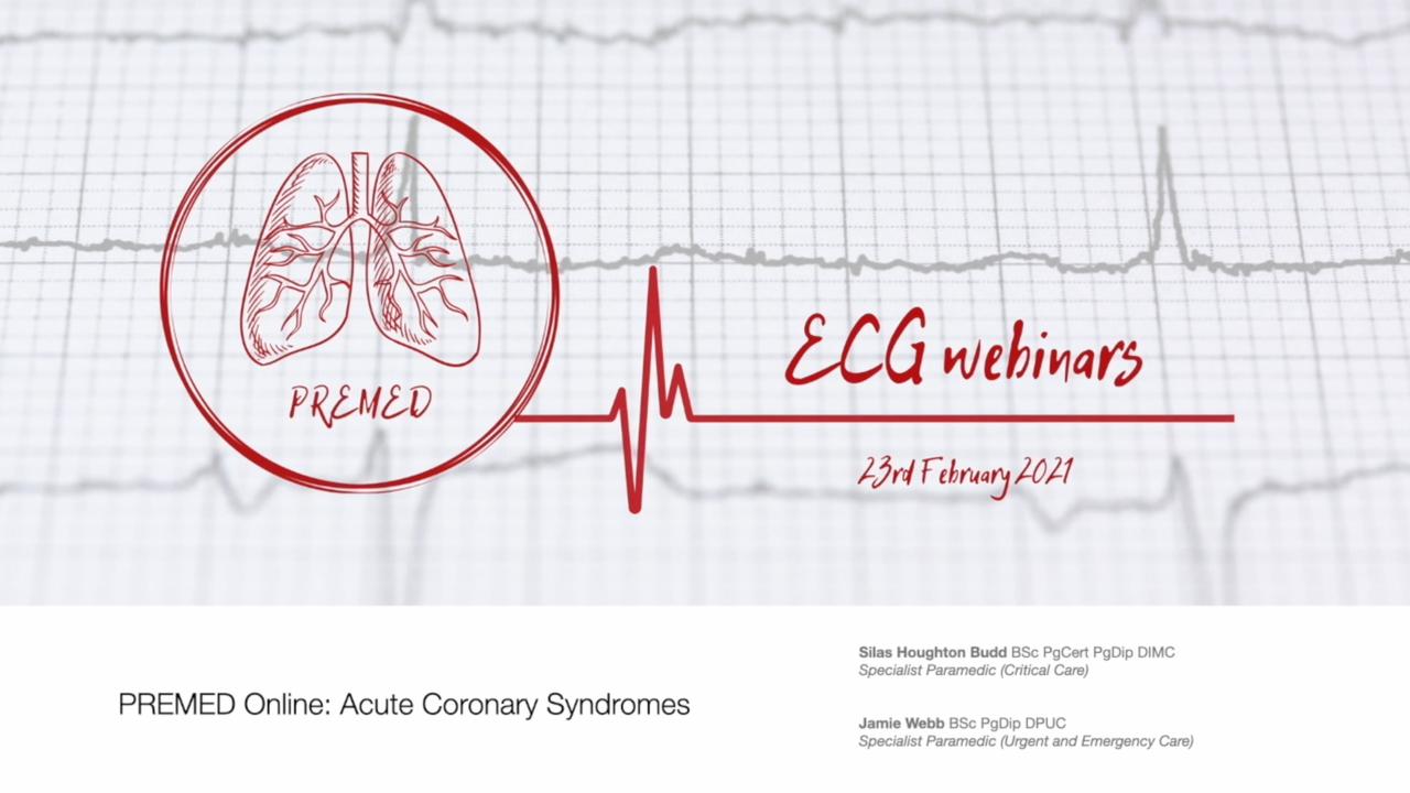 PREMED Online: Acute Coronary Syndromes