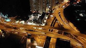Kwun Tong MTR At night