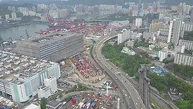 HK Highspeed Road Landscape