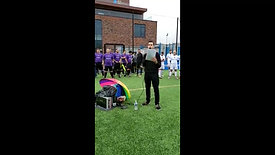 Opening remarks from James Laley, Sheffield Rainbow Laces organiser