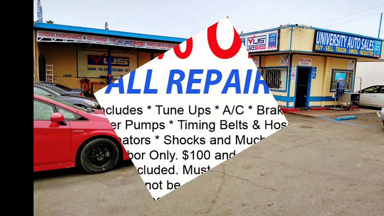 Auto Repair Photo Slide