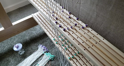Countermarch loom tie-up