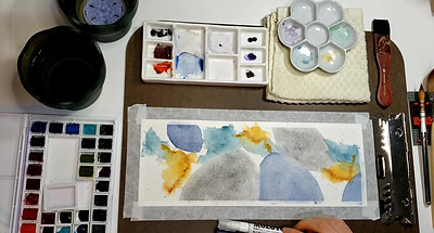 Abstract Watercolour Hyperlapse