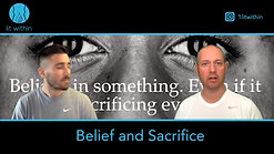 Believing in yourself and making sacrifices